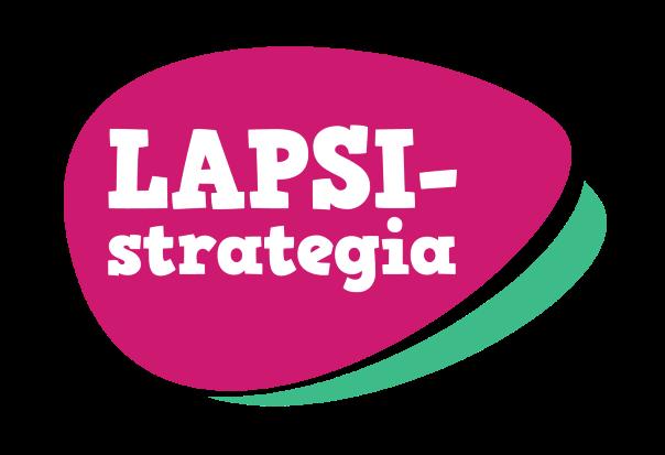 Kansallisen lapsistrategian logo